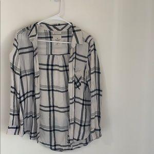 AE Flannel Button Down